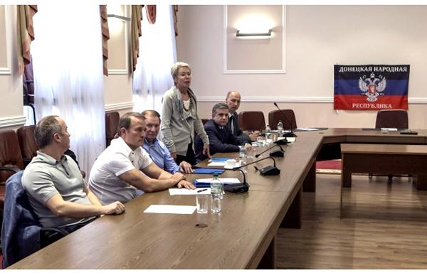 переговоры в Донецке
