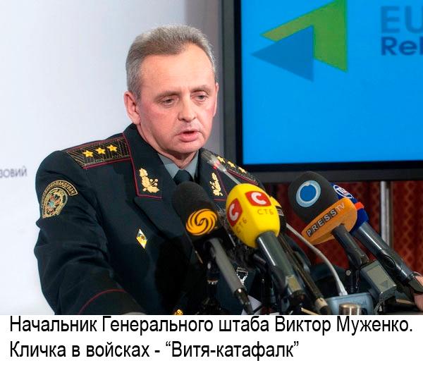 генерал муженко